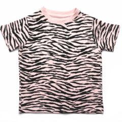 Beatrice t-shirt Tiger Stipe Pink