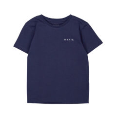 Trim t-shirt BLUE