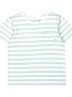 Verkstad t-shirt MINT WHITE