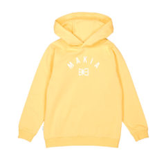 Brand hooded sweatshirt YELLOW