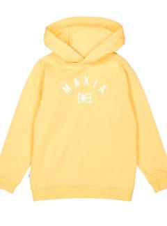 Brand hooded sweatshirt YELLOW