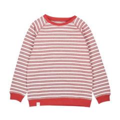 Algot Sweatshirt RED WHITE