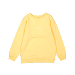 Trim sweatshirt YELLOW