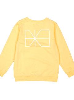 Trim sweatshirt YELLOW