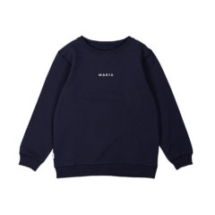 Trim sweatshirt DARK BLUE