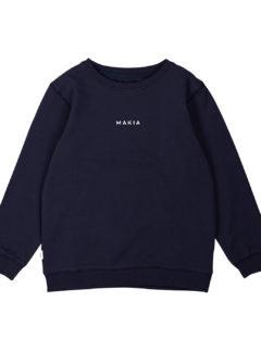Trim sweatshirt DARK BLUE