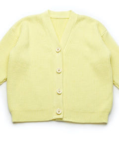 SHANE CARDIGAN Yellow