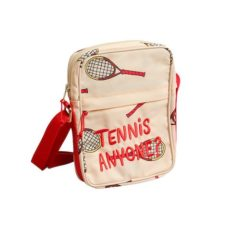 Tennis messenger bag, offwhite