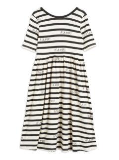 A la mer ss dress, tencel, offwhite