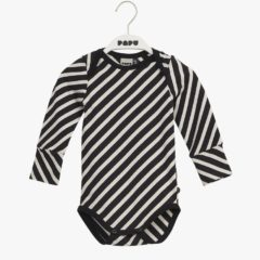 Stripe body, black/sand