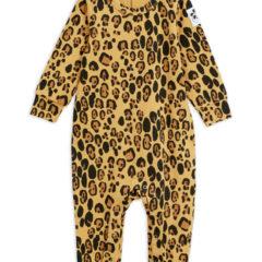 Basic leopard jumpsuit, beige