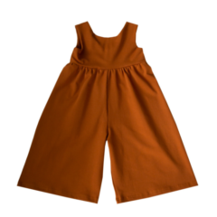 Culottes overall, Spring cinnamon