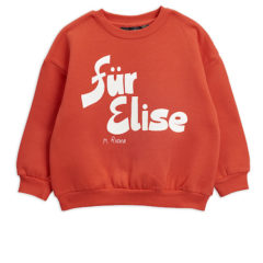 Für Elise sp sweatshirt, red
