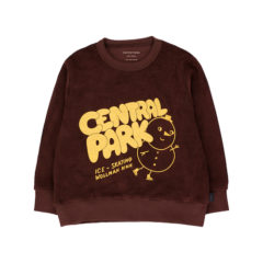 Central Park Sweatshirt, Ultra brown/Yellow