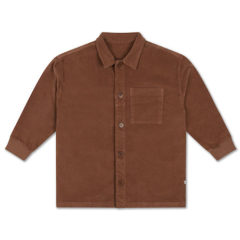 Classic Shirt, Choclat Brown