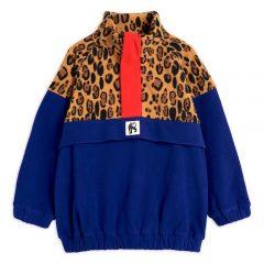 Fleece zip pullover, Beige
