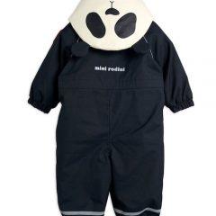 Alaska panda baby overall, Black