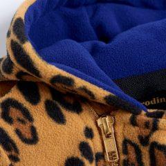 Fleece onesie, Beige