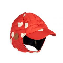 Insulator hearts cap, Red