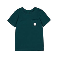 Pocket t-shirt, Teal