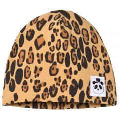 Basic leopard beanie, 56/58