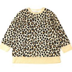 Elissa sweat dress, Leopard oat
