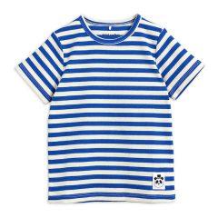 Stripe RIB SS Tee, Blue