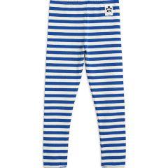 Stripe RIB Leggings, Blue