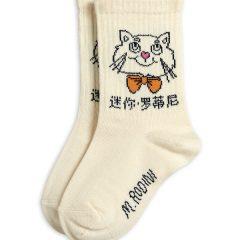 Cat Socks, Offwhite