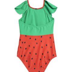 Strawberry Halterneck Swimsuit, Red