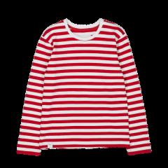 Verkstad Long Sleeve, Red/White