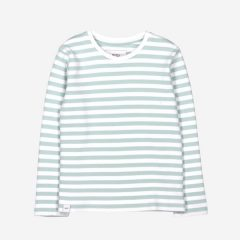 Verkstad Long Sleeve, Mint/White