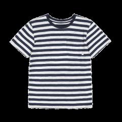 Verkstad T-Shirt, Navy/White