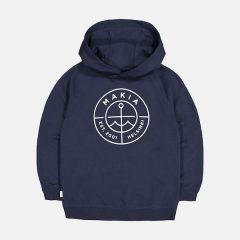 Scope Hooded Sweatshirt, Dark Blue, 134/140