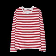 Verkstad Long Sleeve, Women, Red/White